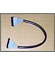 Eksitdata - Round floppy-cable, 42cm, colour black and grey